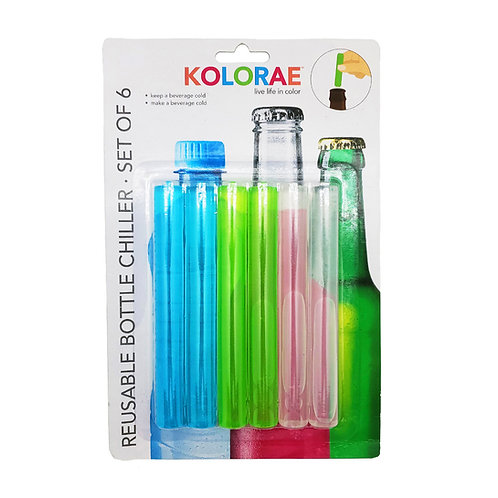 Kolorae Reusable Bottle Chiller Set of 6
