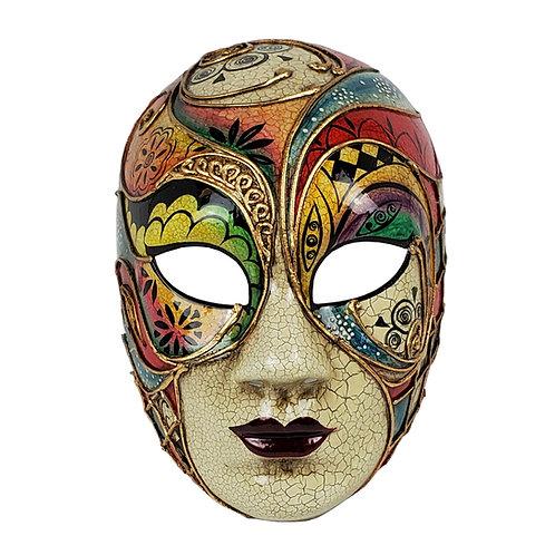 Masqarae Colorful Lady Mask - Rd