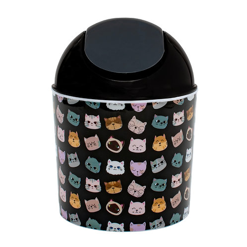 Kolorae Mini Waste Can Confused Cats