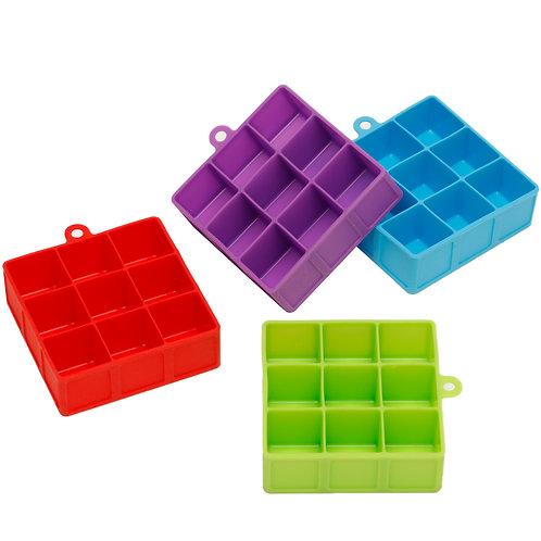 Kolorae Silicone Ice Tray 9 Cubes