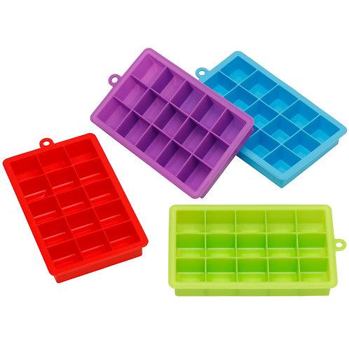 Kolorae Silicone Ice Tray - 15 Cubes