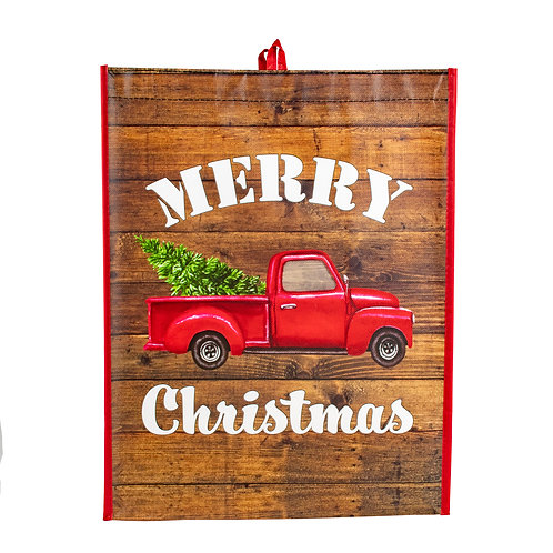 Kolorae Graphic Tote Merry Christmas Red Truck
