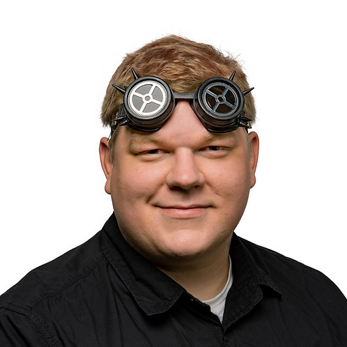 Masqarae Industrial Specialty Goggles - BK SPIKED