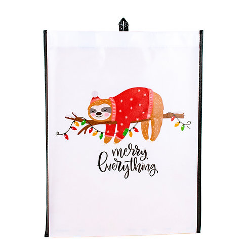 Kolorae Graphic Tote Merry Everything Sloth