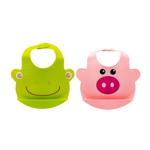 Kolorae Animal Friends Silicone Bib