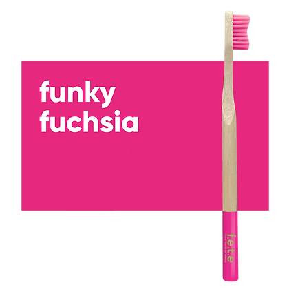 FETE Firm Toothbrush - Pink