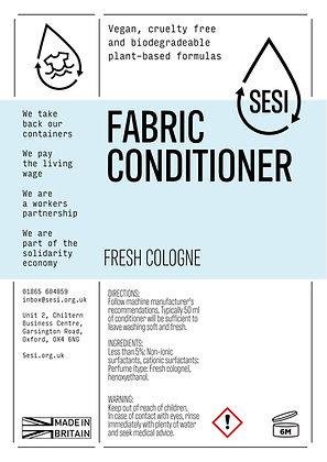FABRIC CONDITIONER - FRESH COLOGNE
