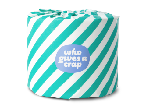 Who Gives A Crap - 100% Recycled Toilet Paper
