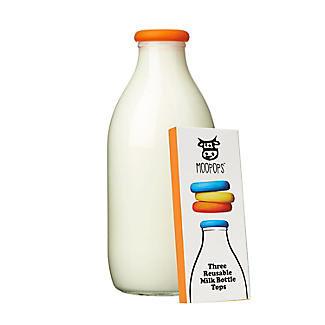 Moopops Bright Milk Bottle Tops