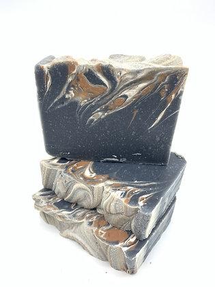 Charcoal, Lime & Ginger Natural Handmade Soap Bar