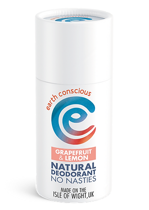 Earth Conscious Grapefruit & Lemon Deodorant Stick