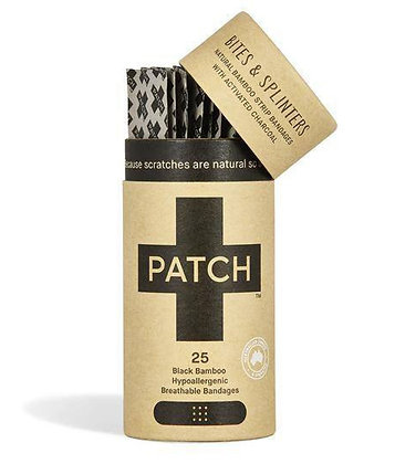 Patch Biodegradable Plasters - Charcoal