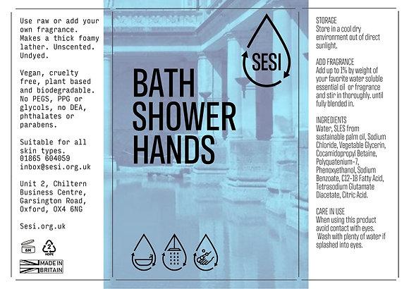 BATH, SHOWER & HANDS