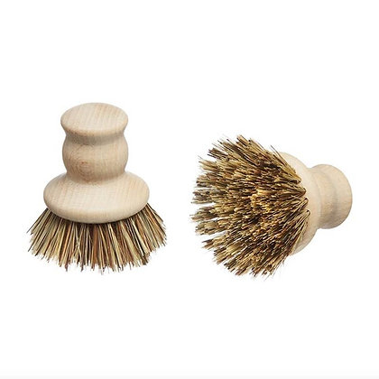 Wooden Pot Brush by Eco Living