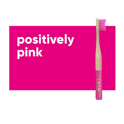 FETE Childs Toothbrush - Pink