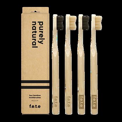 FETE Medium Multipack Toothbrushes