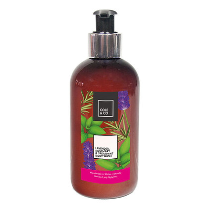 Cole & Co Lavender, Rosemary & Spearmint Body Wash