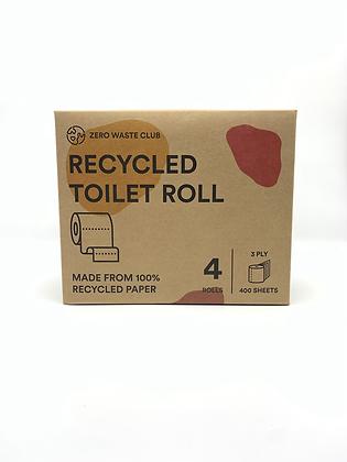 Zero Waste Club Recycled Toilet Roll