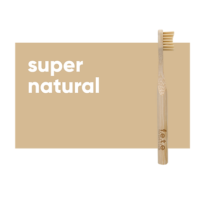 FETE Childs Toothbrush - Natural