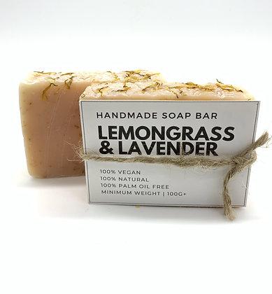 Lemongrass & Lavender Handmade Soap Bar