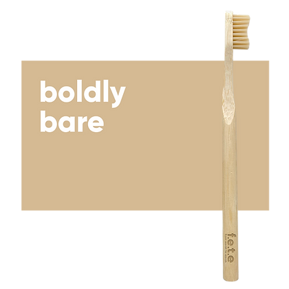 FETE Medium Toothbrush - Natural