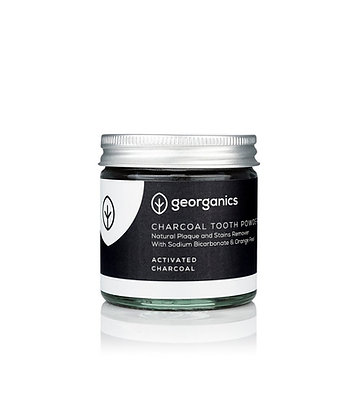 Georganics Charcoal Toothpowder 60ml