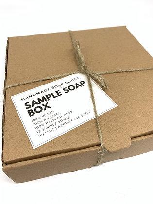 Handmade Natural Soap Sample Gift Box