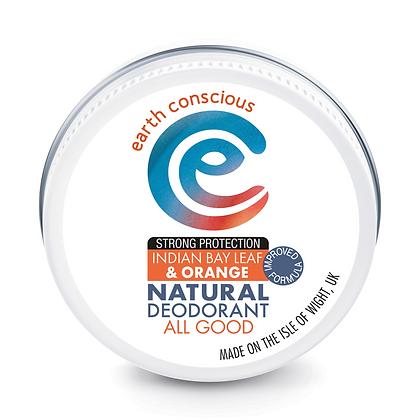 Earth Conscious Indian Bay Leaf & Orange Deodorant Balm