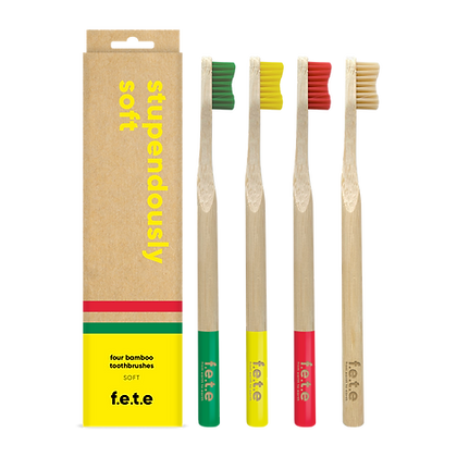 FETE Soft Multipack Toothbrushes