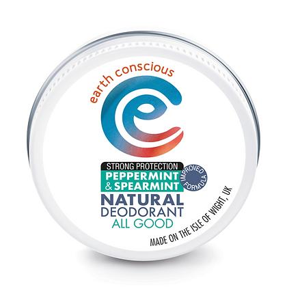 Earth Conscious Peppermint & Spearmint Deodorant Balm