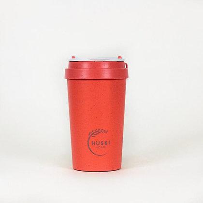 Huski Home 400ml Travel Cup - Coral
