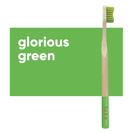FETE Firm Toothbrush - Green
