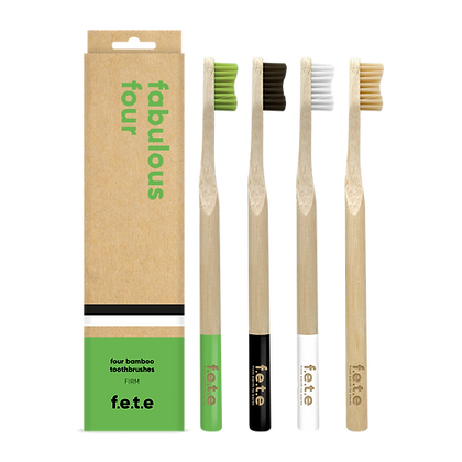 FETE Firm Multipack Toothbrushes
