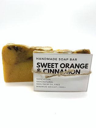 Sweet Orange & Cinnamon Soap Bar