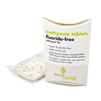 Toothpaste Tablets Fluoride Free - Refill