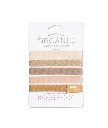 Kooshoo Organic Hair Ties - Blonde