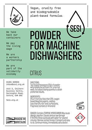 DISHWASHER POWDER - CITRUS