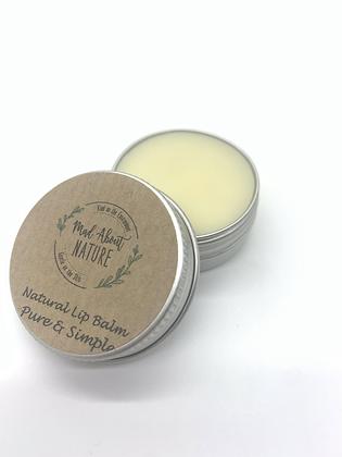 Natural Lip Balm - Pure & Simple
