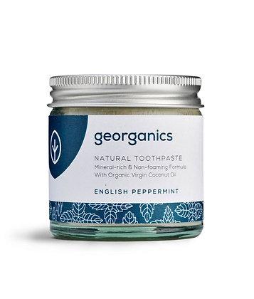 Georganics English Peppermint Toothpaste 120ml
