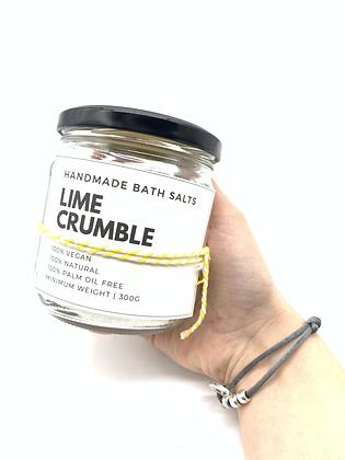 Lime Bath Crumble