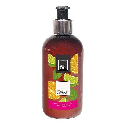 Cole & Co Lime, Basil & Mandarin Body Wash