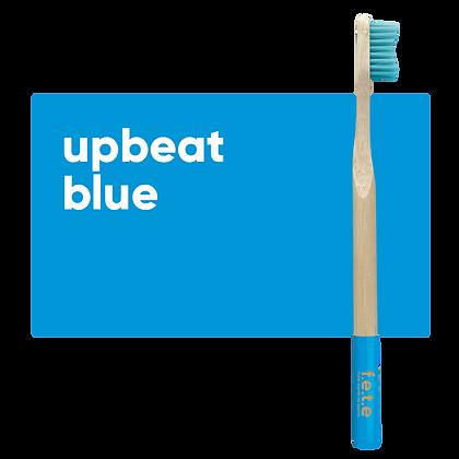 FETE Medium Toothbrush - Bright Blue