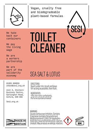 TOILET CLEANER - SEA SALT & LOTUS