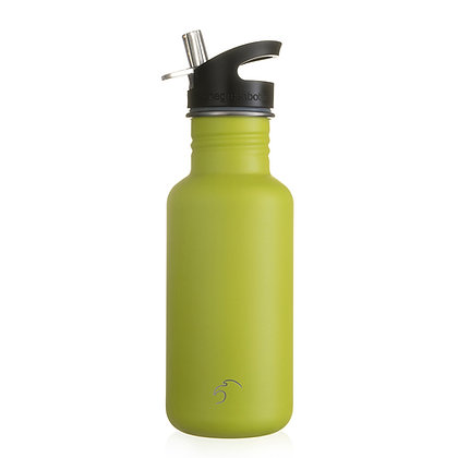 One Green Bottle 500ml- Neon Yellow