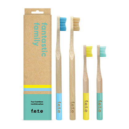 FETE Family Pack Toothbrushes