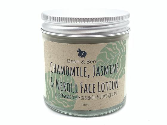 Bean & Bee Chamomile, Jasmine & Neroli Face Lotion