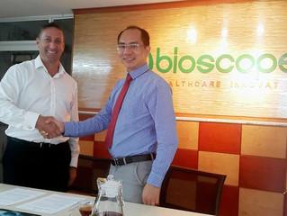 GC Rieber ký hợp đồng phân phối độc quyền với Bioscope Việt Nam