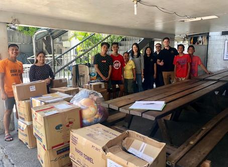 Donation Drop-off at Pangarap Foundation, Inc.