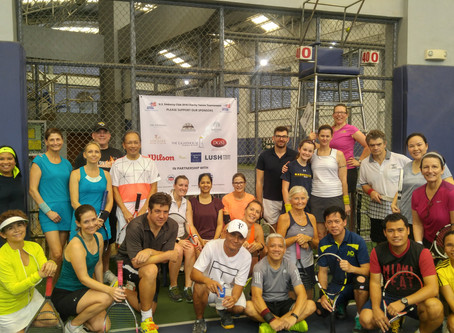 First Annual USEC Charity Tennis Tournament a Great Success!