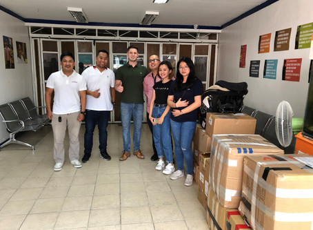 Donation Drop-off at Virlanie Foundation Philippines